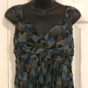 Apt. 9 Sleeveless Dressy Shirt size Medium (W5)